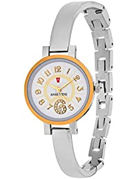Swiss Trend White Dial Dignified Analouge Women's Watch