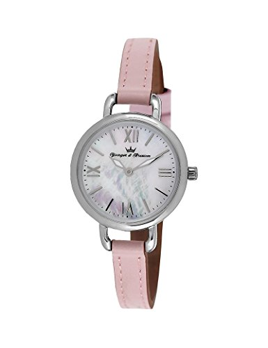 Reloj Yonger & Bresson Mujer Nácar blanca–DCC 051/BO–Idea regalo Noel–en Promo