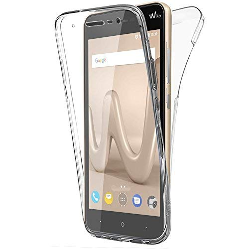 check out b4687 50ce7 Buyus Coque Gel Wiko Lenny 4 (5 Pouces) Coque 360 Degres Protection  Integral Anti