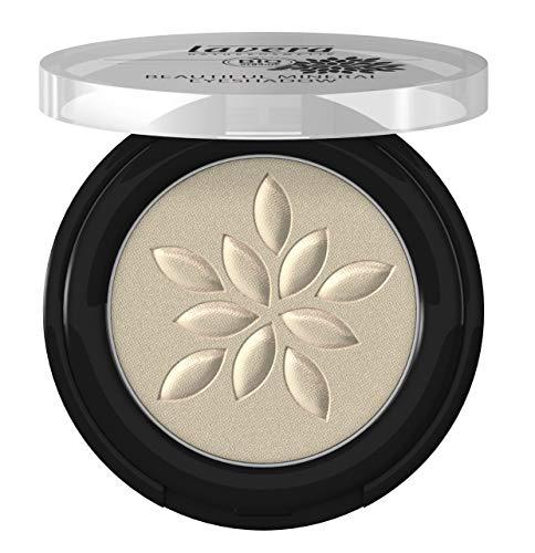 lavera Fard à paupières Beautiful Mineral Eyeshadow -Shiny Silver 39- Texture merveilleusement douce ∙ Vegan ✔ Cosmétiques naturels ✔ Make up ✔ Ingrédients végétaux bio ✔ 100% Naturel (2 g)