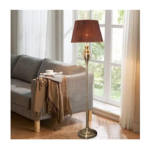 QXX Lámpara de pie Estadounidense Salón LED Sofá Mesa de ...