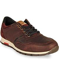Wisconsin Zapato Sneaker Cordon Burdeos