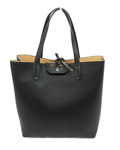 Patrizia Pepe borsa shopping 2V5517 Black/true beige