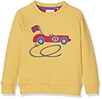 Kite Boy's Racing Car Sweatshirt, Yellow (Sand), 10-11 Years (Manufacturer Size:10-11yrs)