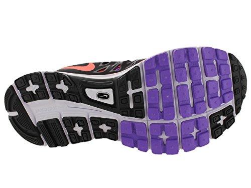 Nike Wmns Zoom Vomero 9, Scarpe sportive, Donna bright mango black hyper grape 800