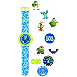 Monsters University Children's Quartz Watch with Multicolour Dial Digital Display and Multicolour Plastic Strap MU7