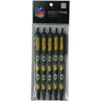 NFL TEAM 5-PACK PENS (Green Bay Packers)