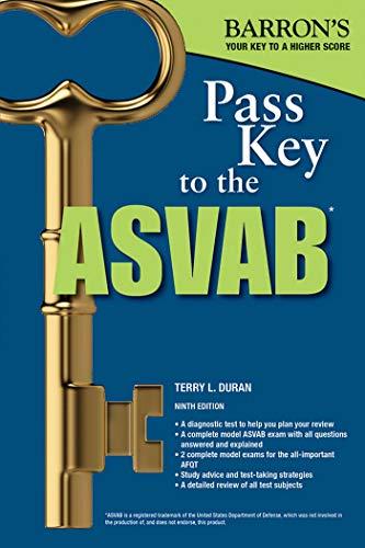 Pass Key to the ASVAB (Pass Key to the Asvab (Barron's)) por Terry L. Duran