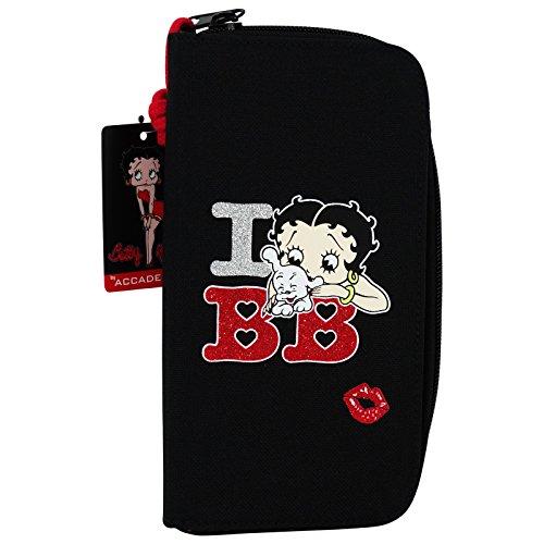 Betty Boop Portafoglio Donna Portamonete portadocumenti