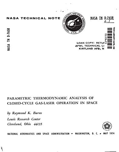 Parametric thermodynamic analysis of closed-cycle gas-laser operation in space (English Edition)