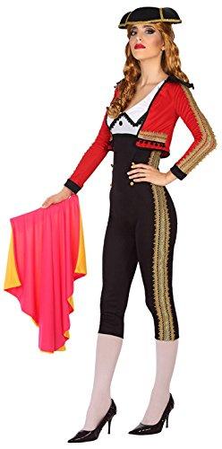 Kostüm Matador Damen - ATOSA 38922 Stierkämpferin Kostüm, Damen, mehrfarbig, M-L