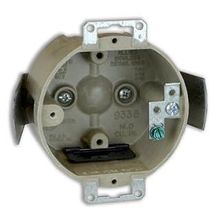 Allied Moulded H9338=ESGK 3-1/2-Inch Diameter Round Fiberglass Box
