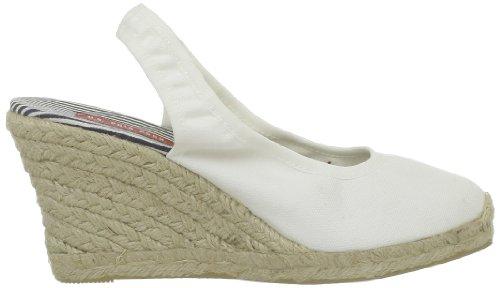 U.S.POLO ASSN. Betsy1 Damen Sandalen Weiß - Blanc (Whi)