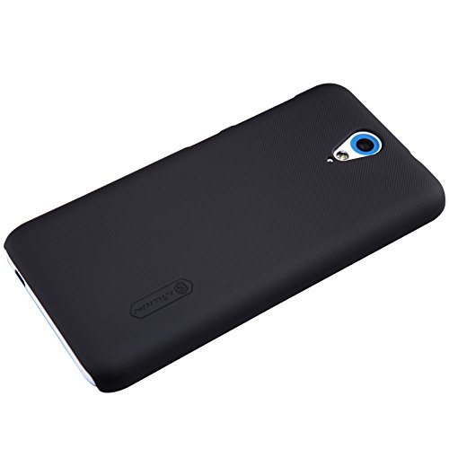Nillkin Frosted Hard Back Case Cover for HTC Desire 620 + Screenguard - Black
