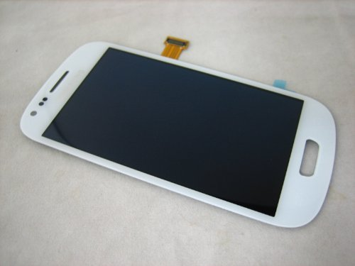 Acheter samsung galaxy siii mini i8190 blanc full amoled ecran lcd tactile mobile phone repair part bon marché