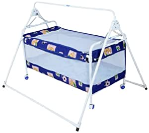 Natraj Sleepwell Crib (Blue)