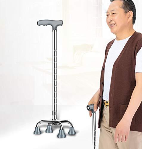 CSCR Ajustable Antideslizante Muleta Mayor Discapacitado