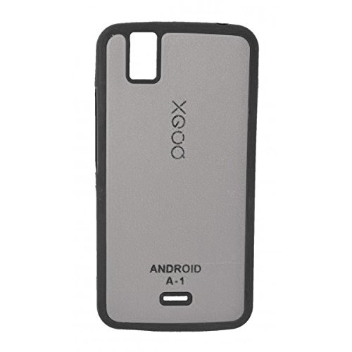 XGOQ Back Case Cover For Micromax Canvas A1 Android One (Grey) - By Online Shoppee