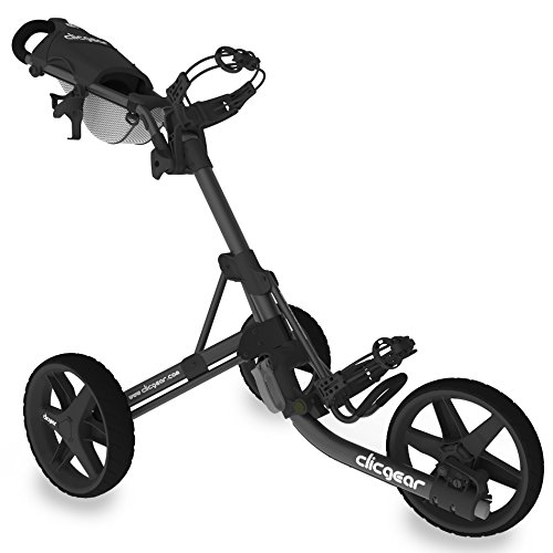Clicgear 3.5+ - Golf Trolley (Black/Charcoal)