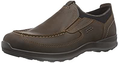 Ecco Hayes, Chaussures Bas -Hommes - Marron - Braun (Cocoa Brown), 47 EU