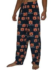 NCAA Auburn Tigers hommes Fall / Winter Polar Fleece Thermal Sleepwear / Pajama Pantalon
