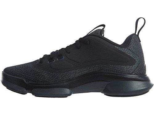 Nike 854288-010, espadrilles de basket-ball garçon Noir