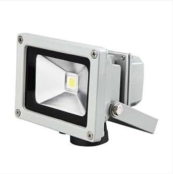 Esky® 10W LED Floodlight Faretto Sicurezza Esterno Impermeabile, Equivalente a Incandescente o Bulbo Alogeno da 50W