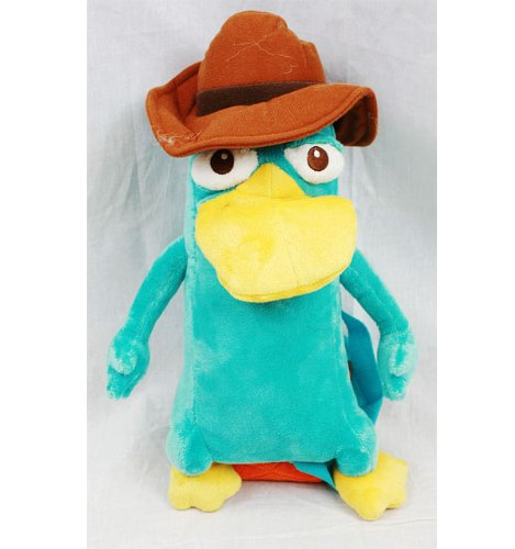 Plush Backpack - Phineas And Ferb - Agent P New Soft Doll Toys a00243-2