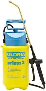 GLORIA Prima 3 Opryskiwacz ciśnieniowy, ogrodowy, pojemność napełniania 3 l, regulowana, mosiężna dysza, kompa