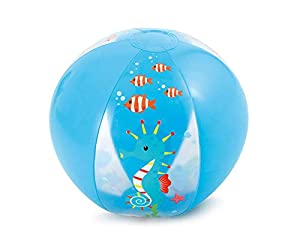 Polygroup Limited- Polygroup 8422259604082 Pelotas 41 Cm Hinchable, Color Celeste (60408)