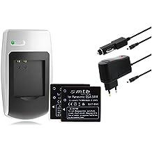 2 Batterie S008/BCE10E +Caricabatteria per Panasonic Lumix DMC-S3 FS5 FS20 FX30 FX33 Vedi Lista