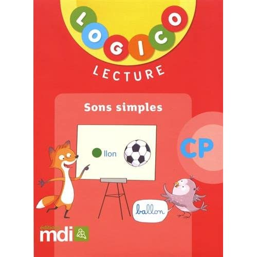 Lecture CP Logico : Sons simples