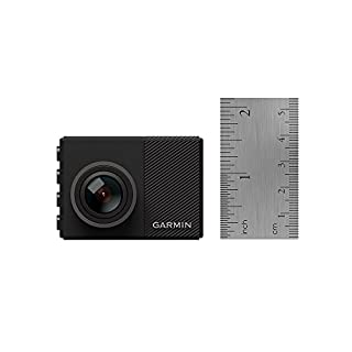 """Garmin Dash Cam 65W, 2.0"""" LCD 1080p Extra Wide 180-Degree Field of View GPS-enabled small dash camera includes memory card, G-Sensor, Loop Recording, 010-01750-05"""