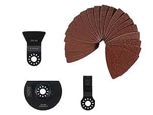 parkside pmfwz 3 a1 universal multifunktionswerkzeug zubeh r set 23 teilig baumarkt. Black Bedroom Furniture Sets. Home Design Ideas