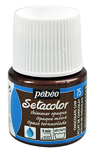 The Opaque Setacolor Shimmer colors are spectacular! These sparkling tints give subtle glints of light which change with the movement of the light;The colors are ready to use, concentrated, shimmering and intense, with exceptional covering power;Thei...