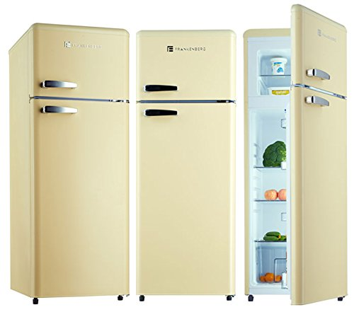 Kühl-Gefrierkombination KGK 250 A+ Kühlschrank Creme