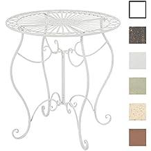 Amazon.fr : Table Jardin Metal - Blanc