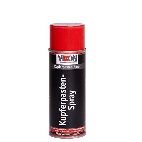 VIKON Kupferpasten-Spray 400 ml bis +1200°C (Kupferspray/Kupferpaste/Montagepaste)