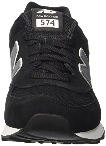 New Balance Ml574cna, Sneakers basses homme Black (Black/Grey)