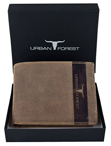 6. URBAN FOREST Tobacco Men's Wallet