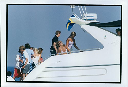 vintage-photo-of-princess-madeleine-and-friends-on-board-luxury-yacht-in-st-tropez