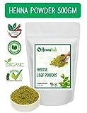 HENNAHUB Natural Henna Leaves Powder/Mehndi (500gm)