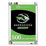 Seagate ST500LM030 Barracuda 0,5 TB interne Festplatte (6,4 cm (2,5 Zoll) 128 MB Cache, Sata 6 Gb/s)