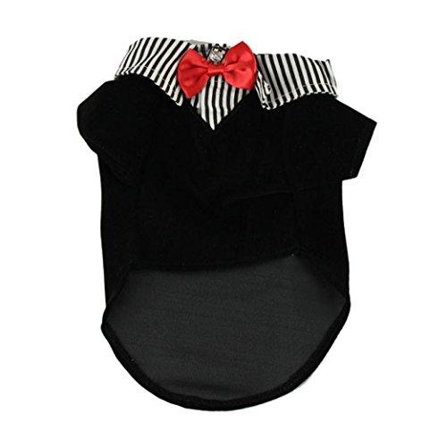 ustier kleidung, kleines Haustier Hundehemd Art und Weisekissen Dekoration Welpen Kostüm für Weihnachten Halloween (XS, Rot) (Sale Halloween Kostüme)
