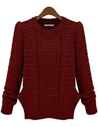 75f74b73d14a Amazon.es: Rojo - Prendas de punto / Mujer: Ropa
