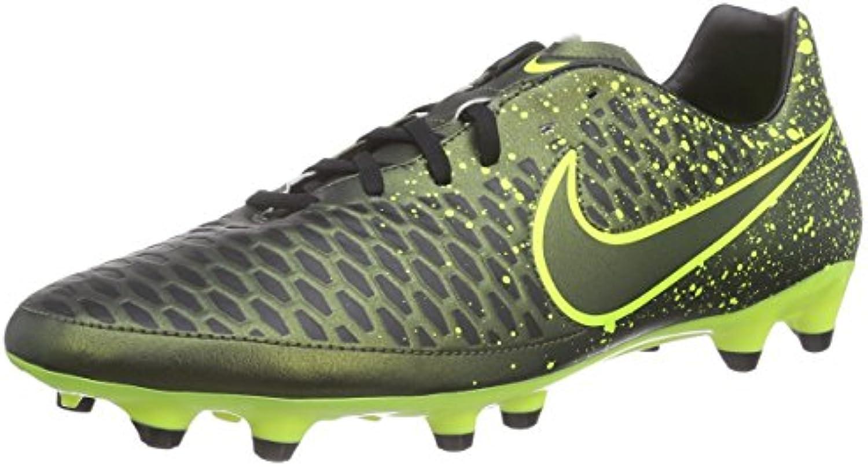 Nike Magista Onda FG Botas de Fútbol, Hombre, Amarillo/Negro/Verde, 45 1/2