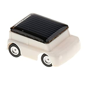posicionar pagina web: Juguetes Juegos Educativos Solar Adminículo Niños - Mini Coche Jeep Blanco