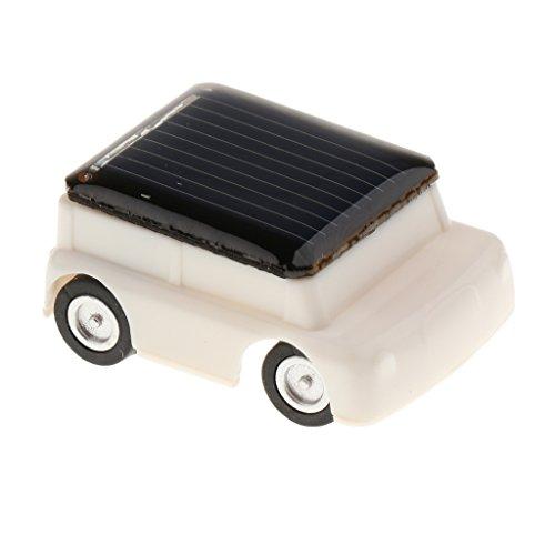 Juguetes Juegos Educativos Solar Adminículo Niños - Mini Coche Jeep Blanco