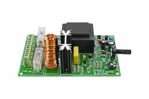 Velleman K2636 controlador de - Mando a distancia (5,5 A, 1 salidas AC, 5-95%, 130 x 75 x 25 mm)