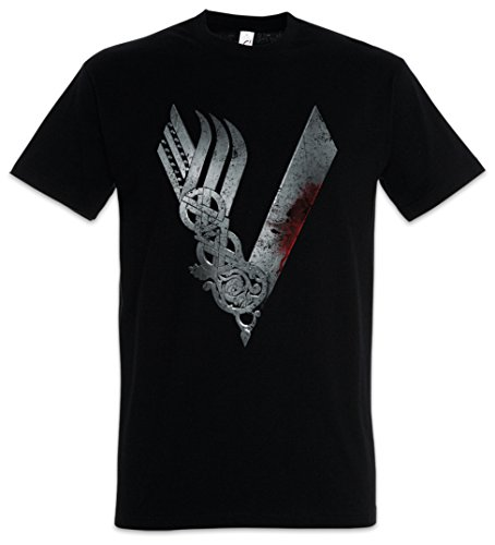 Vikings Logo Celtic T-Shirt - Wikinger TV Serie Yggdrasil Thor Vikings T-Shirt Größen S - 5XL (XXL) - Celtic-logo-t-shirt